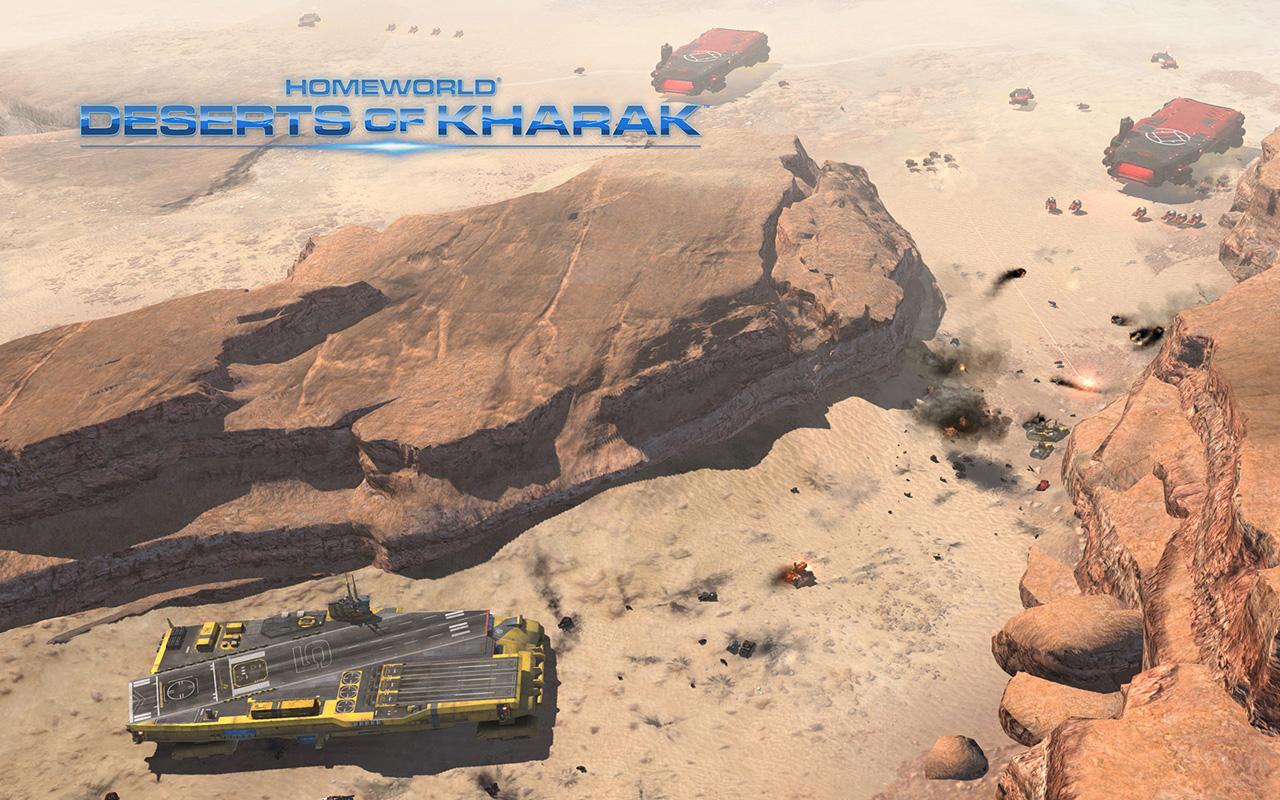 Free Homeworld: Deserts of Kharak Wallpaper in 1280x800