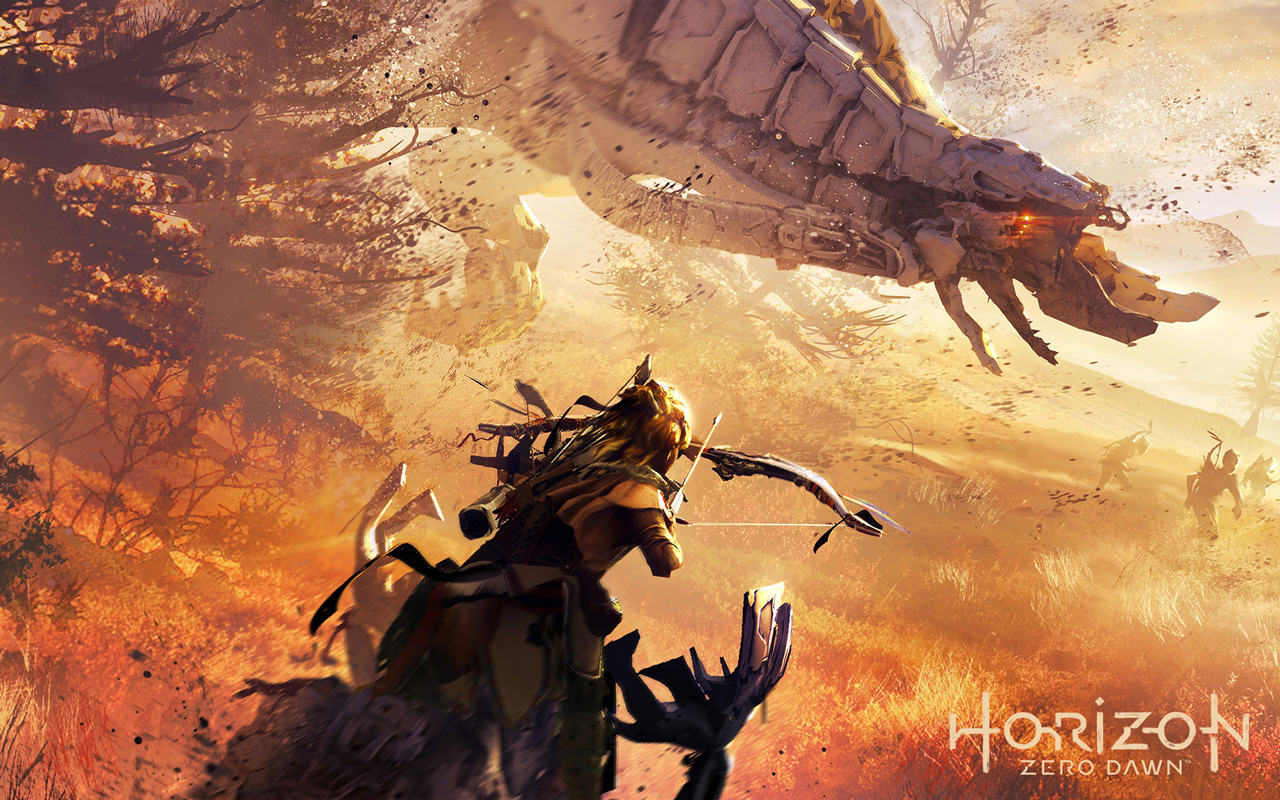 Free Horizon Zero Dawn Wallpaper in 1280x800