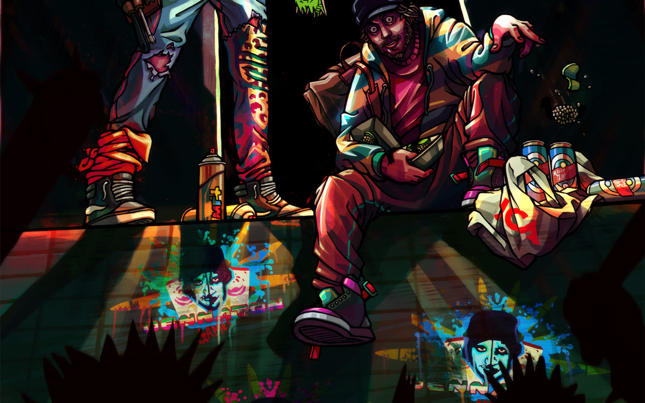 Free Hotline Miami 2: Wrong Number Wallpaper in 1280x800