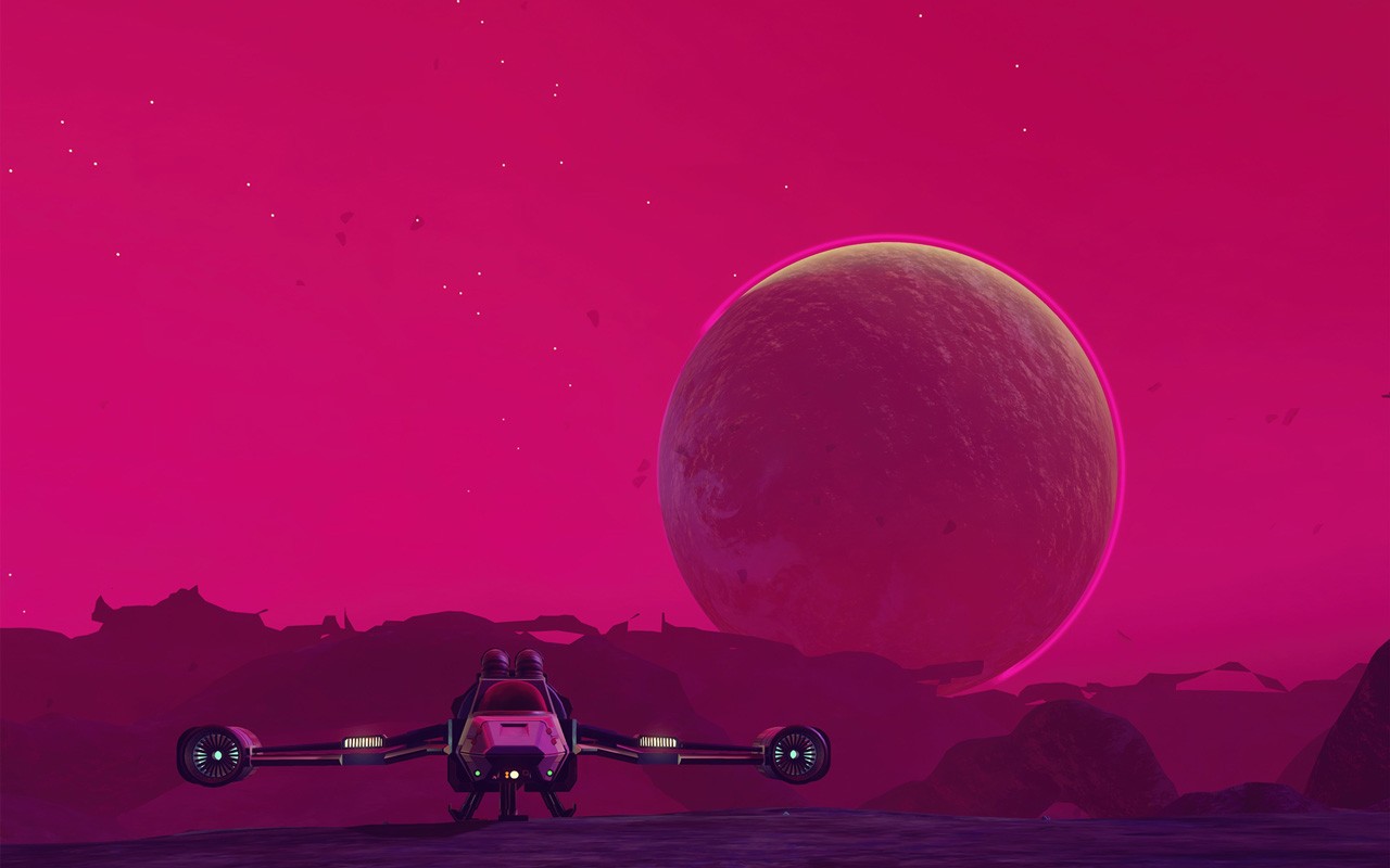 Free No Man's Sky Wallpaper in 1280x800