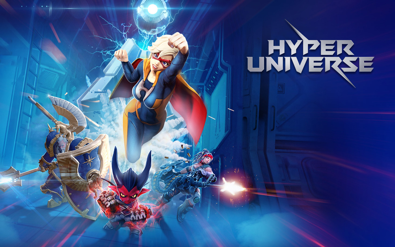 Free Hyper Universe Wallpaper in 1280x800