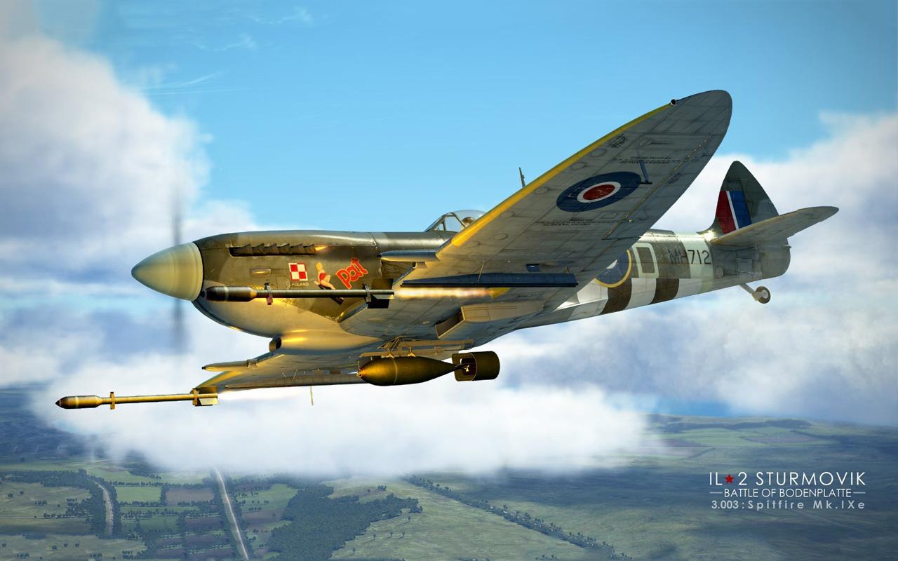Free IL-2 Sturmovik: Battle of Bodenplatte Wallpaper in 1280x800