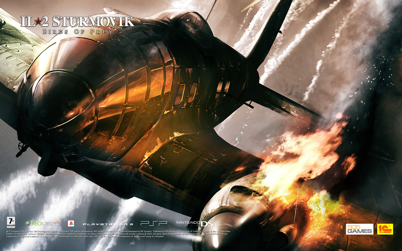 Free IL-2 Sturmovik: Birds of Prey Wallpaper in 1280x800