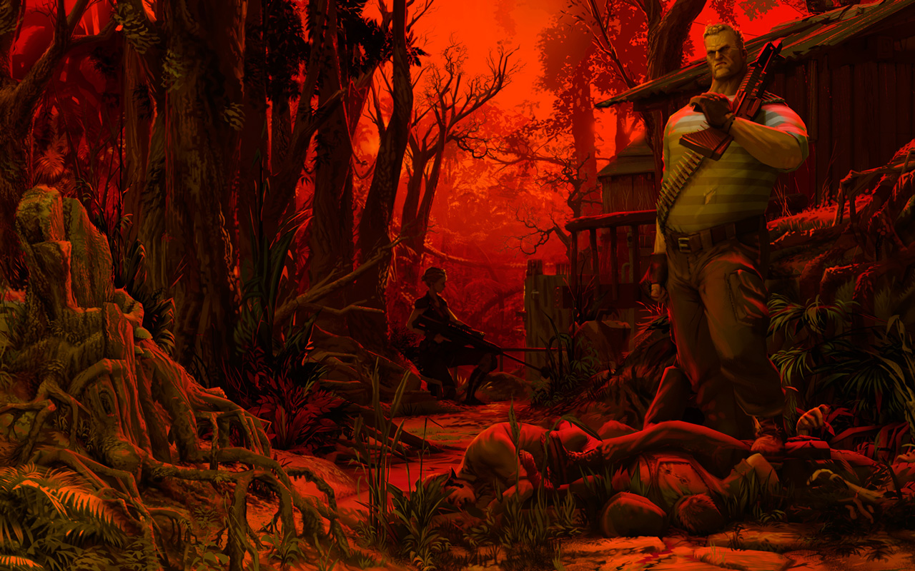 Free Jagged Alliance: Rage! Wallpaper in 1280x800