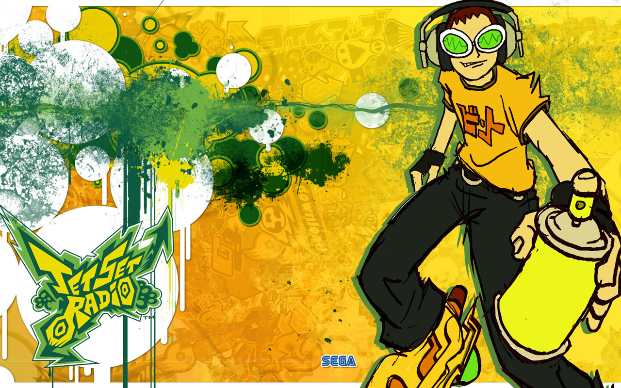 Free Jet Set Radio Wallpaper in 1280x800