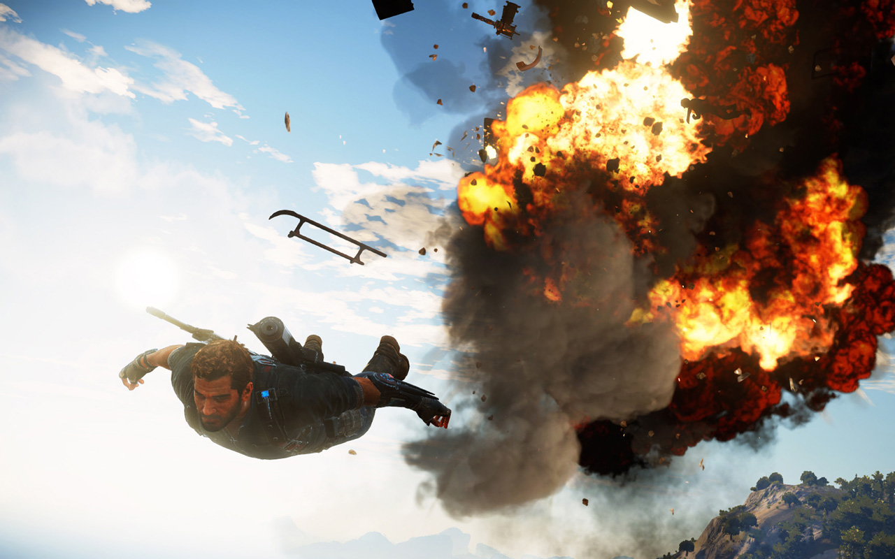 Free Just Cause 3 Wallpaper in 1280x800