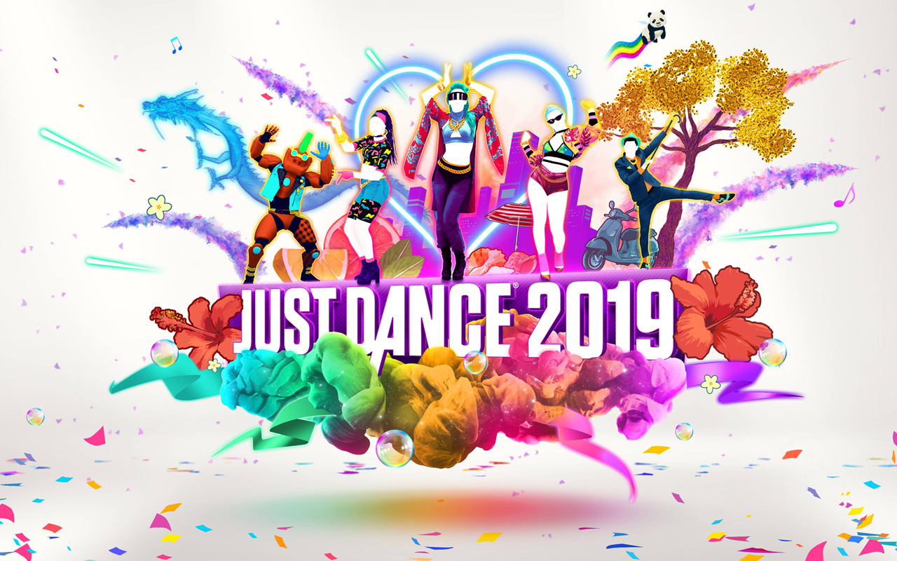 Free Just Dance 2019 Wallpaper in 1280x800