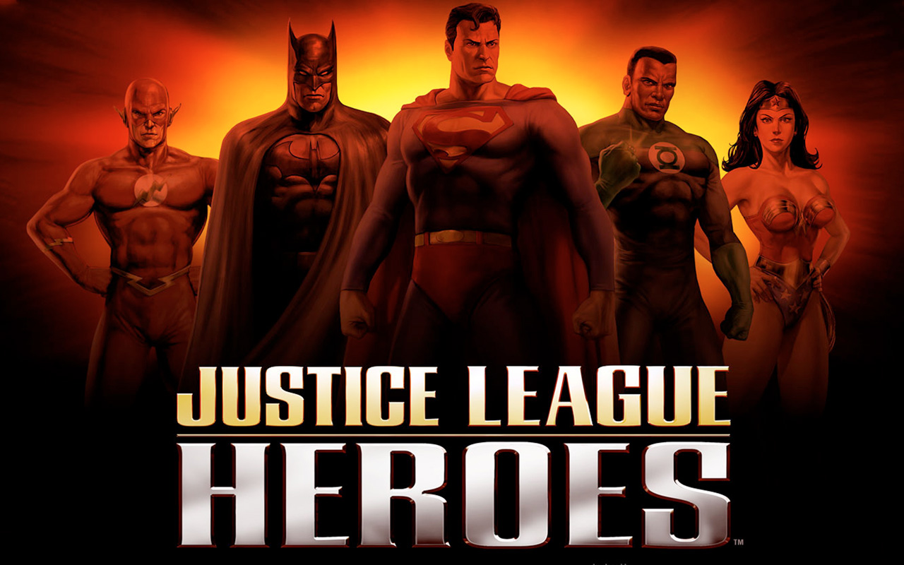 Free Justice League Heroes Wallpaper in 1280x800