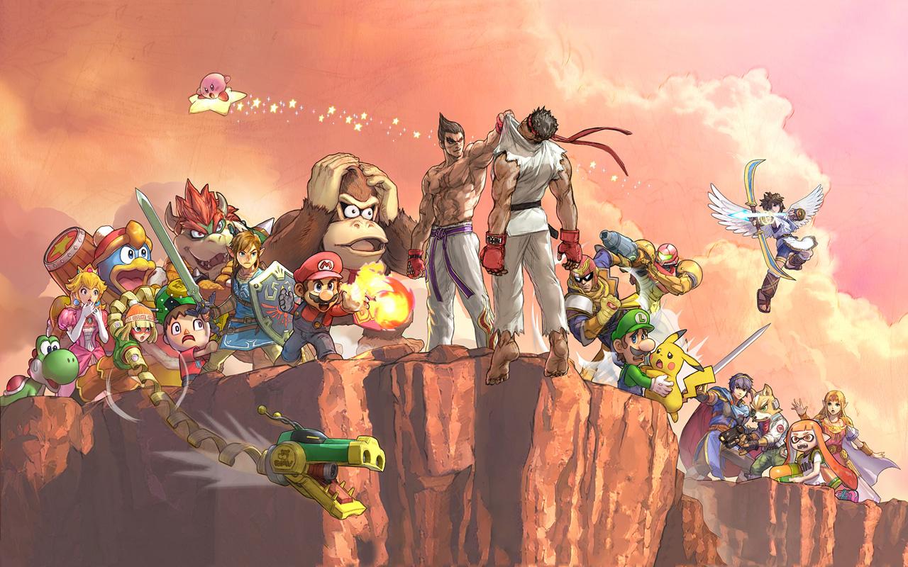 Free Super Smash Bros. Ultimate Wallpaper in 1280x800