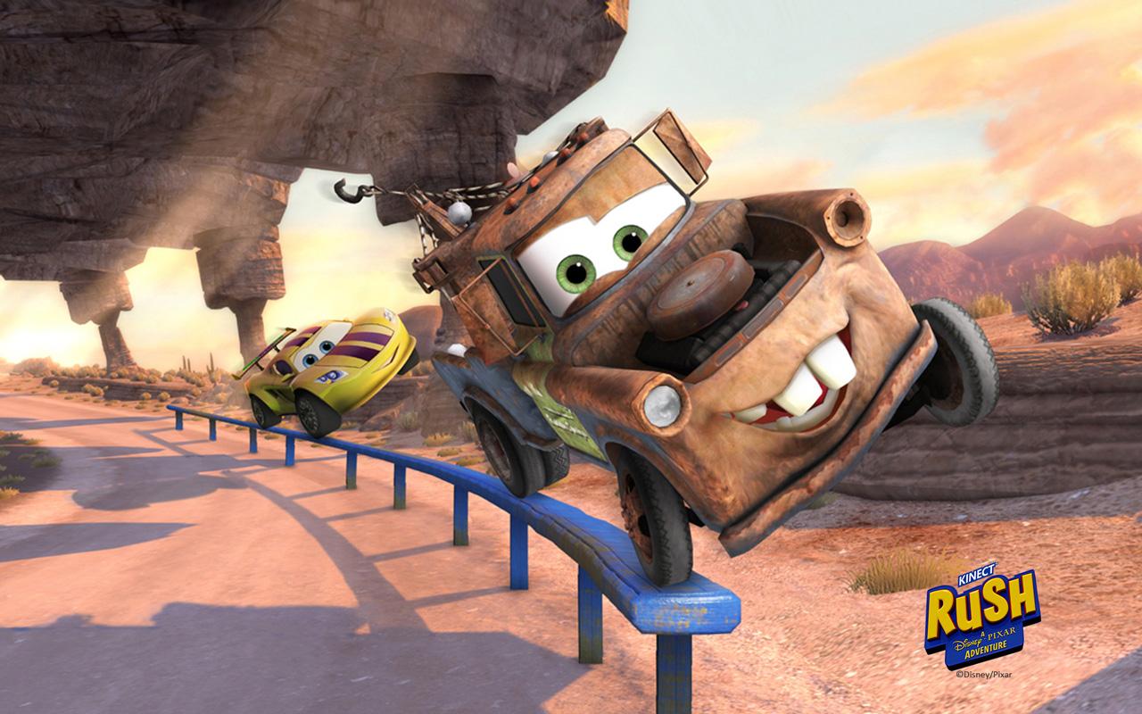 Free Kinect Rush: A Disney Pixar Adventure Wallpaper in 1280x800