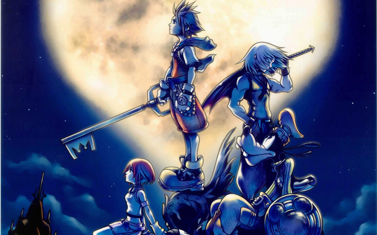 Free Kingdom Hearts Wallpaper in 1280x800