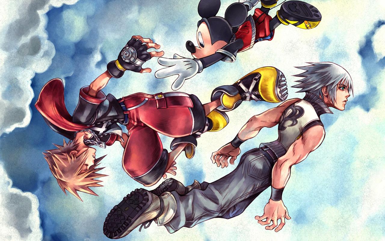 Free Kingdom Hearts: Chain of Memories Wallpaper in 1280x800