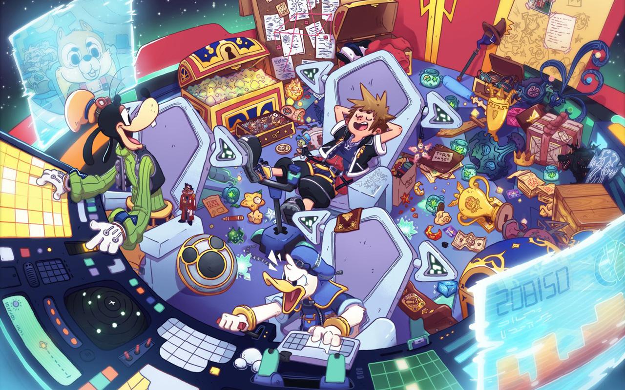 Free Kingdom Hearts III Wallpaper in 1280x800