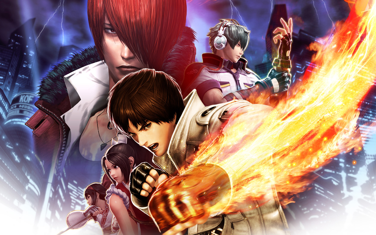 Free The King of Fighters XIV Wallpaper in 1280x800