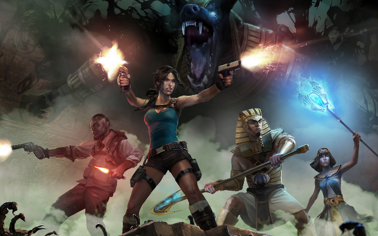 Free Lara Croft and the Temple of Osiris Wallpaper in 1280x800