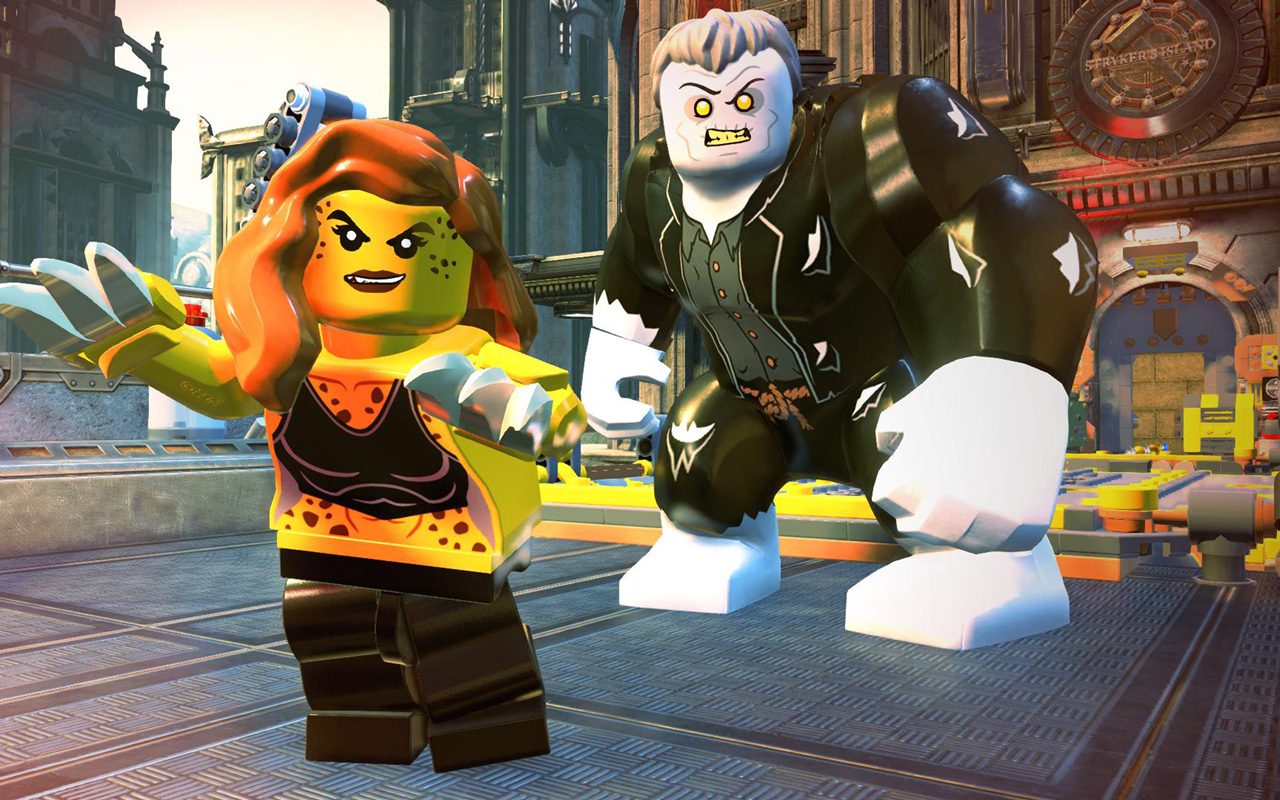 Free Lego DC Super Villains Wallpaper in 1280x800