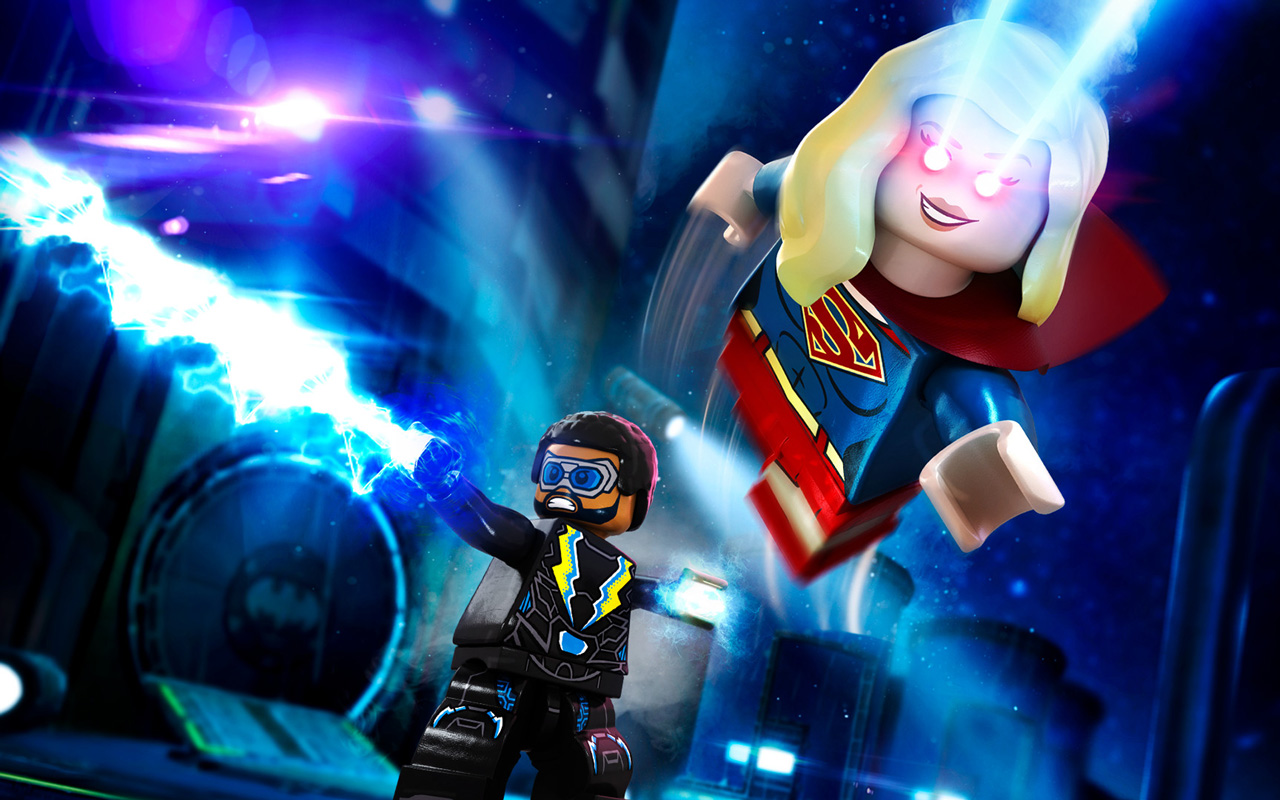 Free Lego DC Super Villains Wallpaper in 1280x800