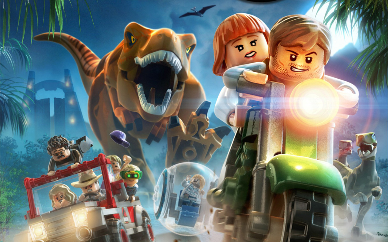 Free Lego Jurassic World Wallpaper in 1280x800