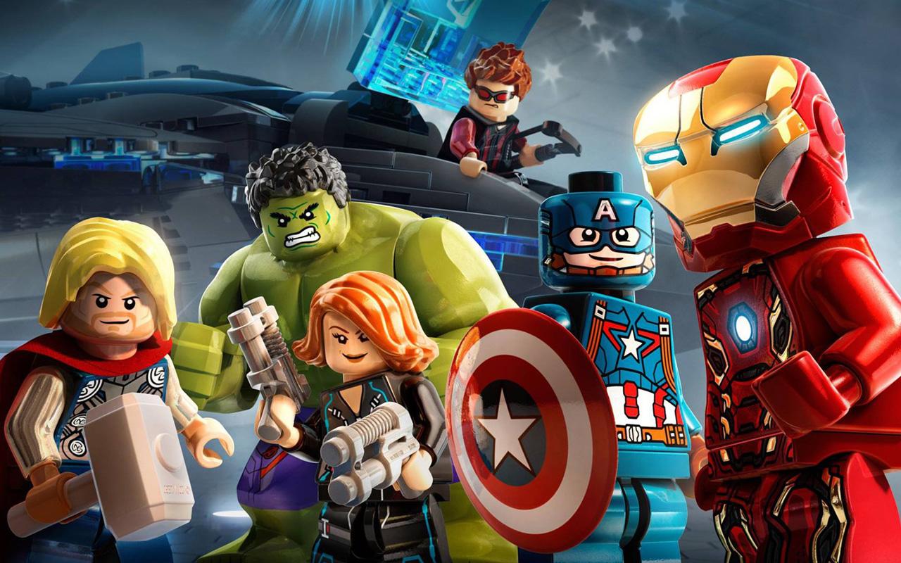 Free Lego Marvel's Avengers Wallpaper in 1280x800