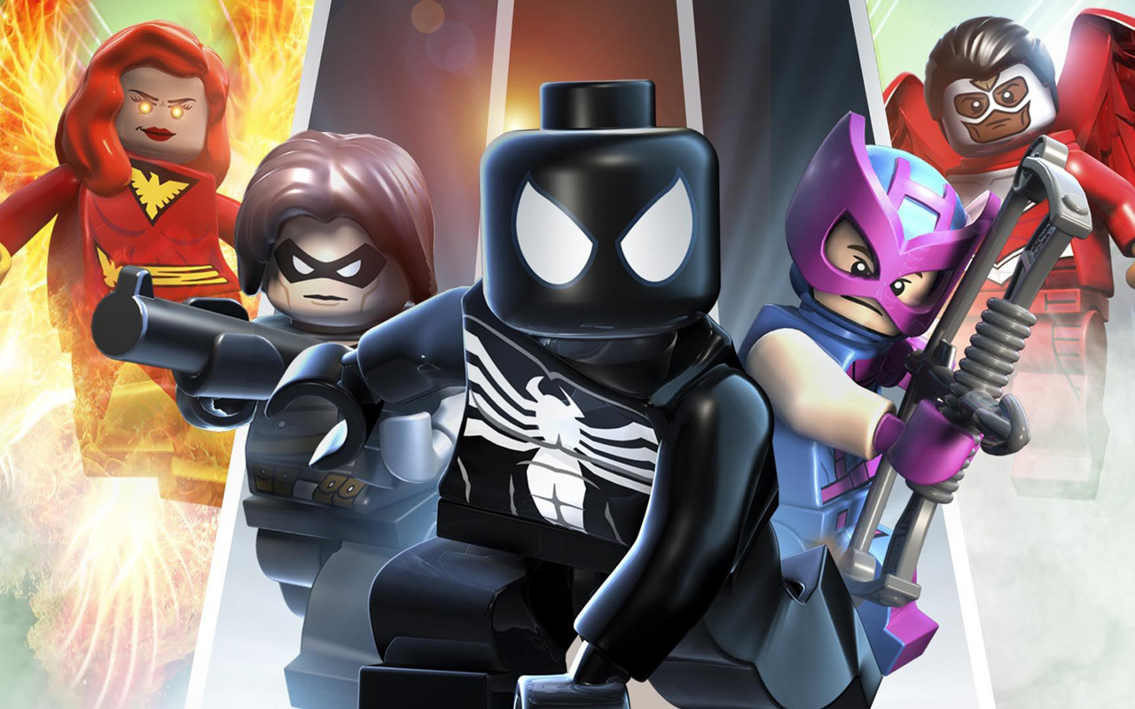 Free Lego Marvel Super Heroes Wallpaper in 1280x800