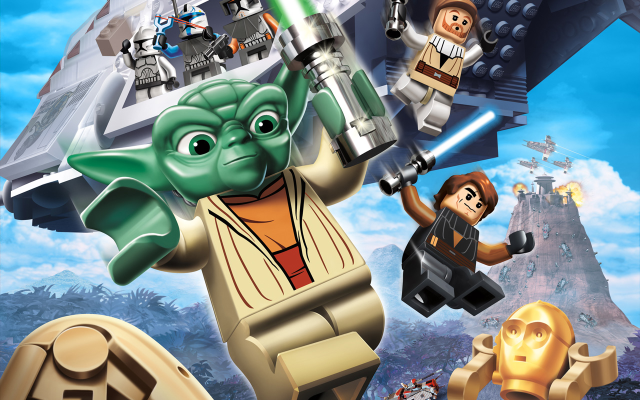 Free Lego Star Wars III: The Clone Wars Wallpaper in 1280x800