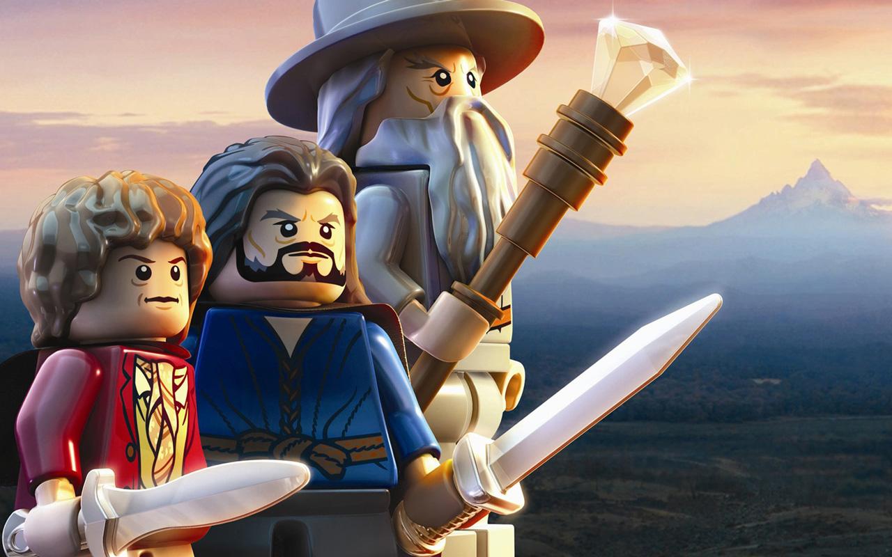 Free Lego The Hobbit Wallpaper in 1280x800