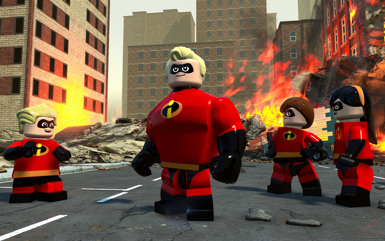 Free Lego The Incredibles Wallpaper in 1280x800