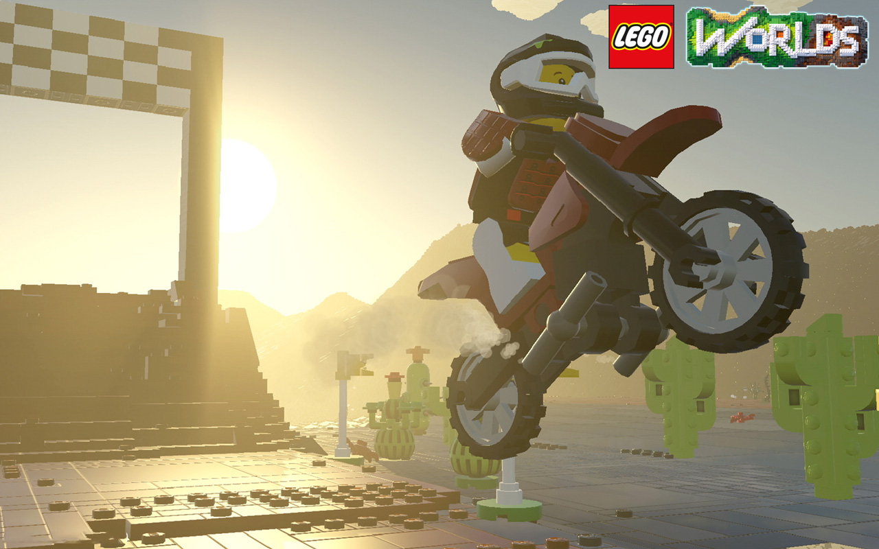 Free Lego Worlds Wallpaper in 1280x800