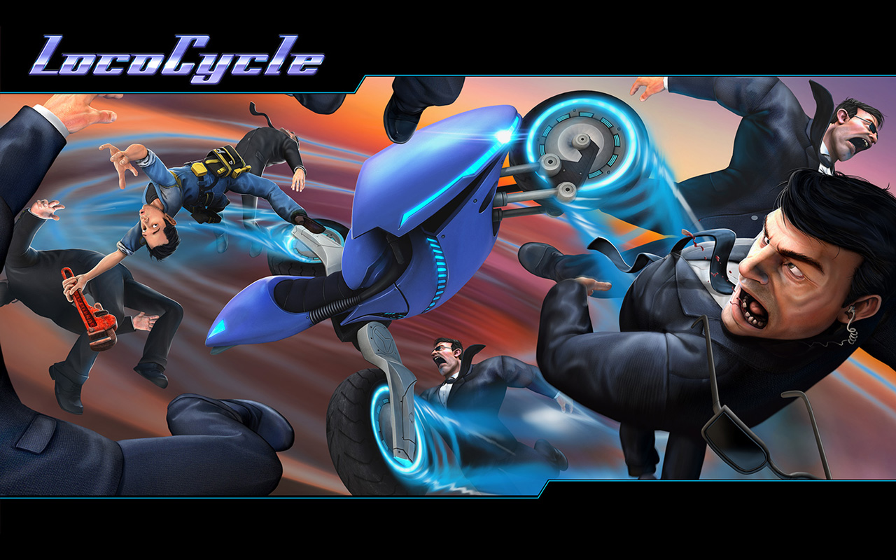 Free LocoCycle Wallpaper in 1280x800