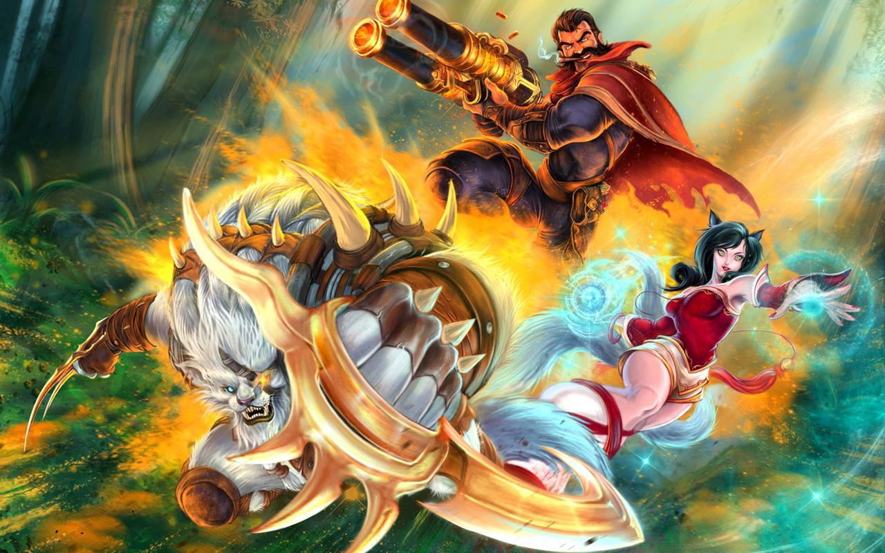 Free League of Legends Wallpaper in 1280x800