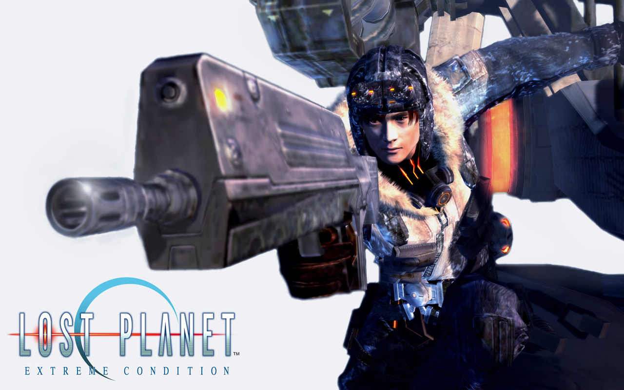 Free Lost Planet: Extreme Condition Wallpaper in 1280x800