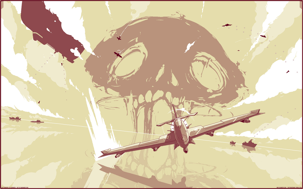 Free Luftrausers Wallpaper in 1280x800