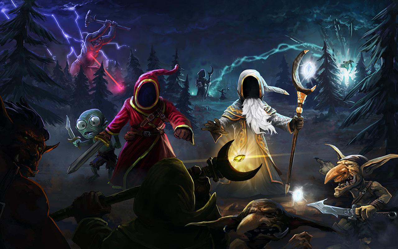 Free Magicka: Wizard Wars Wallpaper in 1280x800