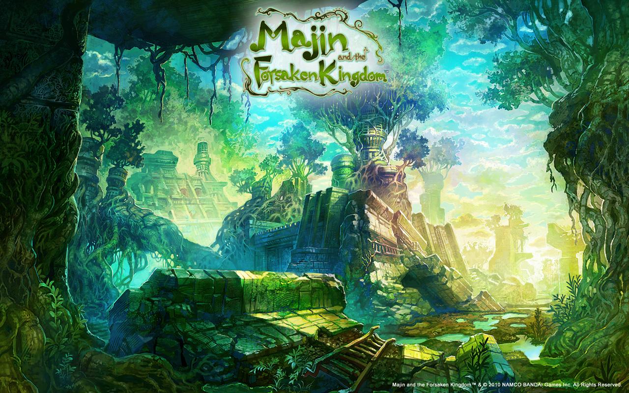 Free Majin and the Forsaken Kingdom Wallpaper in 1280x800