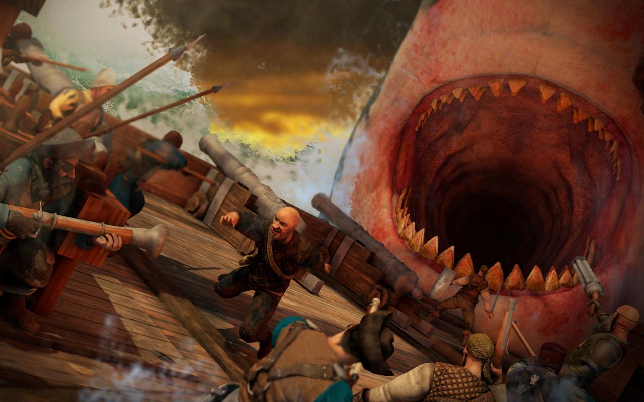 Free Man O' War: Corsair - Warhammer Naval Battles Wallpaper in 1280x800
