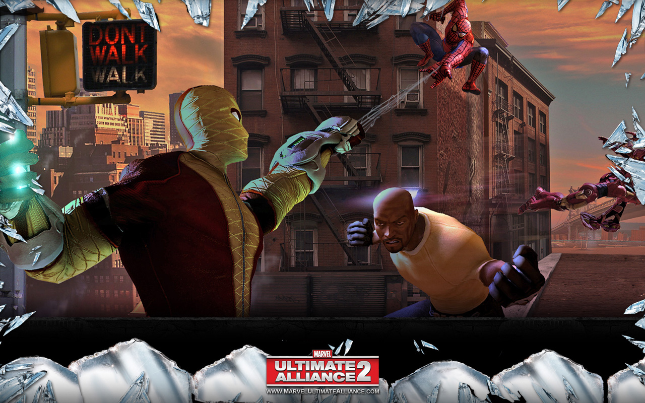 Free Marvel: Ultimate Alliance 2 Wallpaper in 1280x800