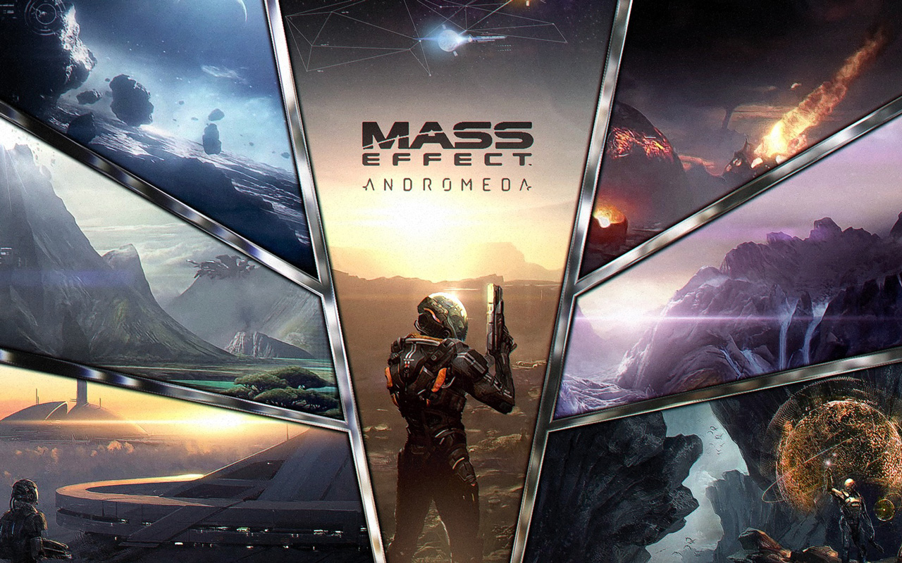 Free Mass Effect: Andromeda Wallpaper in 1280x800