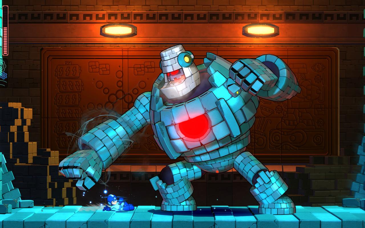 Free Mega Man 11 Wallpaper in 1280x800