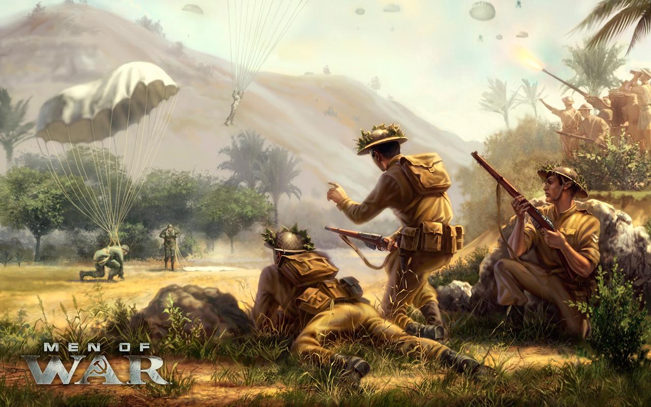 Free Men of War Wallpaper in 1280x800