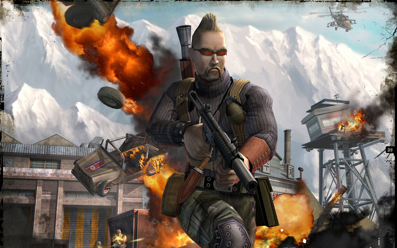 Free Mercenaries: Playground of Destruction Wallpaper in 1280x800
