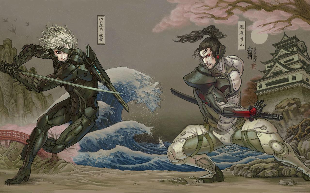 Free Metal Gear Rising: Revengeance Wallpaper in 1280x800