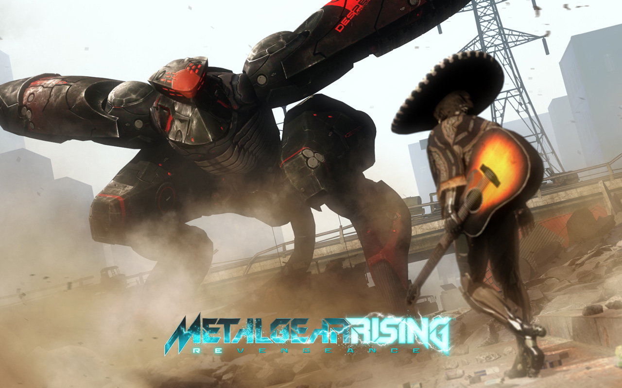 Free Metal Gear Rising: Revengeance Wallpaper in 1280x800