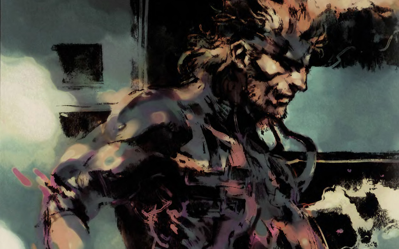 Free Metal Gear Solid Wallpaper in 1280x800