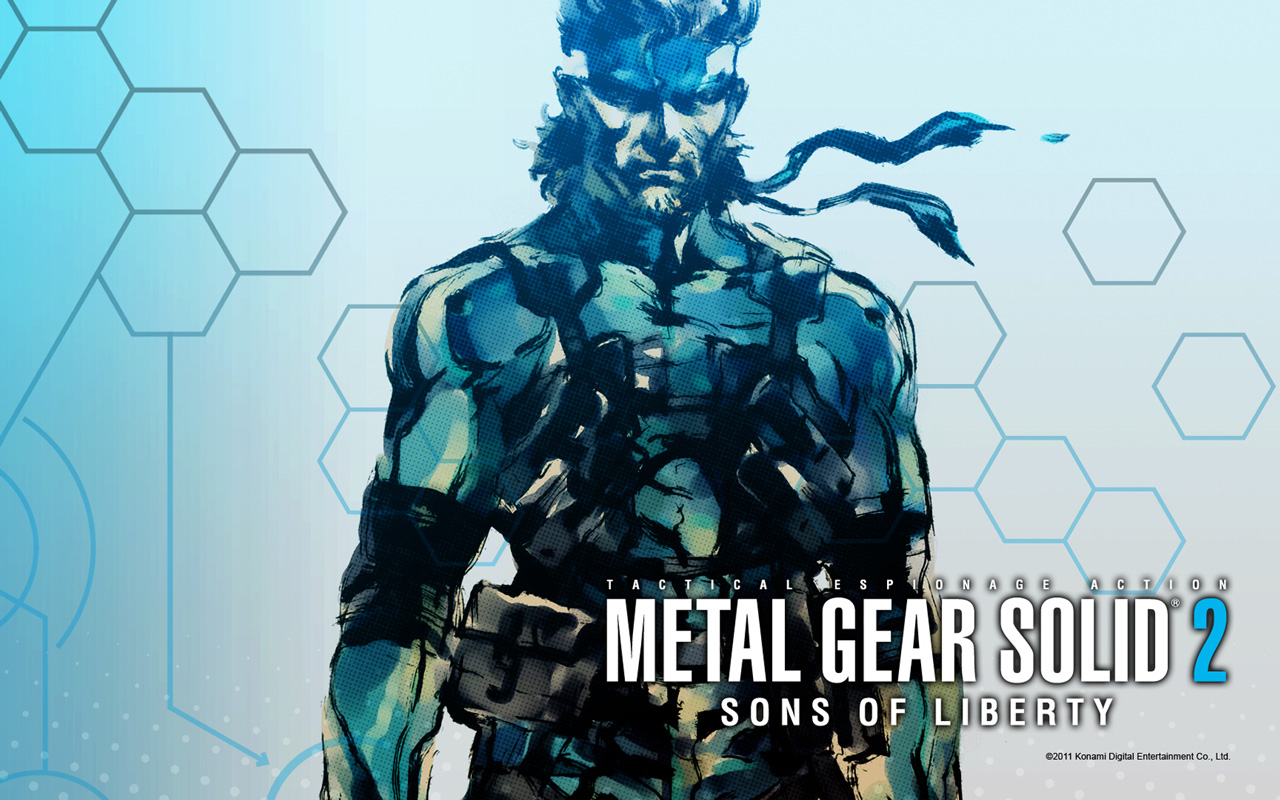 Free Metal Gear Solid 2 Wallpaper in 1280x800