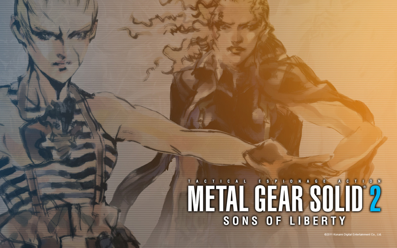 Free Metal Gear Solid 2 Wallpaper in 1280x800