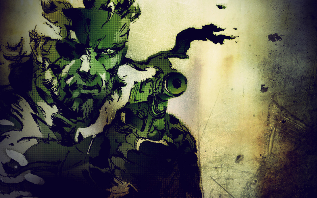 Free Metal Gear Solid 3 Wallpaper in 1280x800