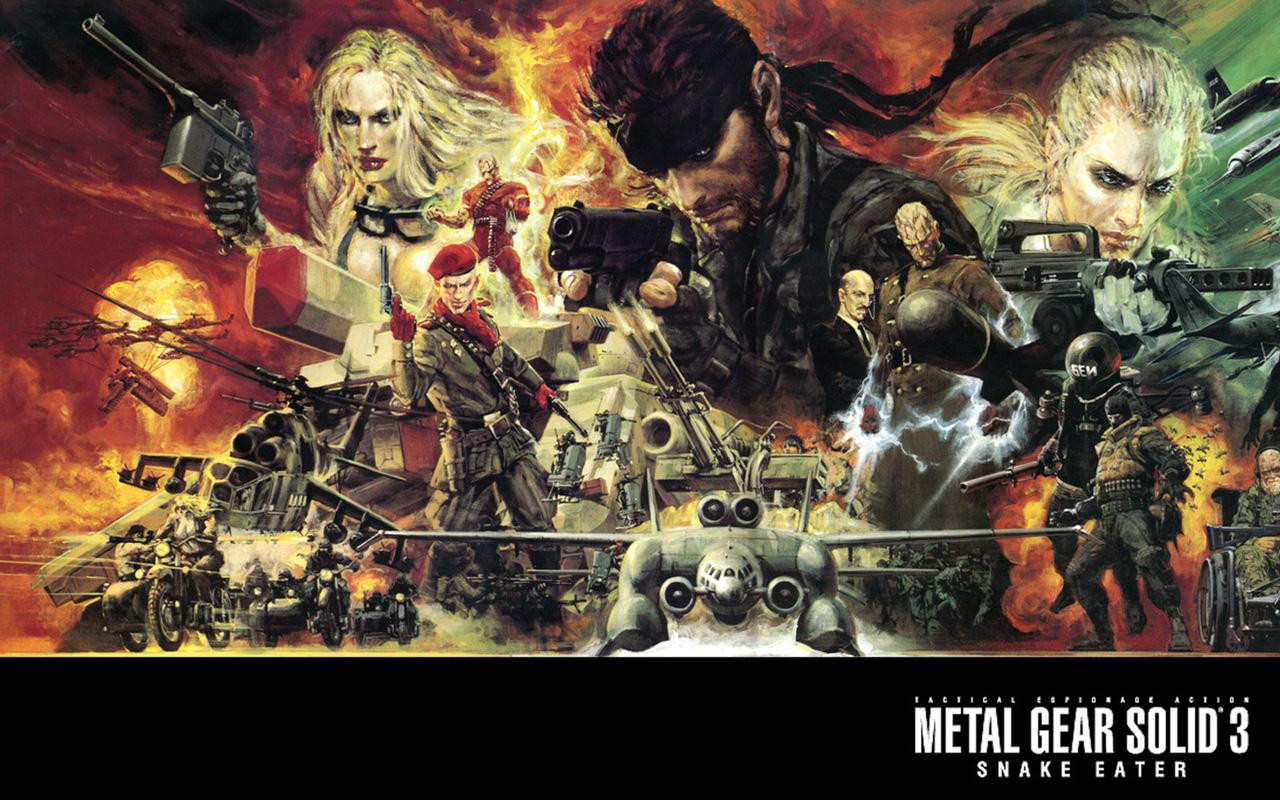 Free Metal Gear Solid 3 Wallpaper in 1280x800