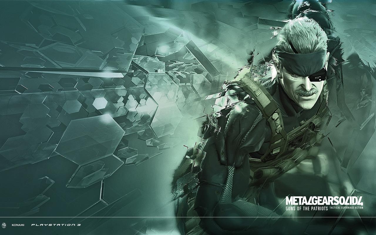 Free Metal Gear Solid 4 Wallpaper in 1280x800