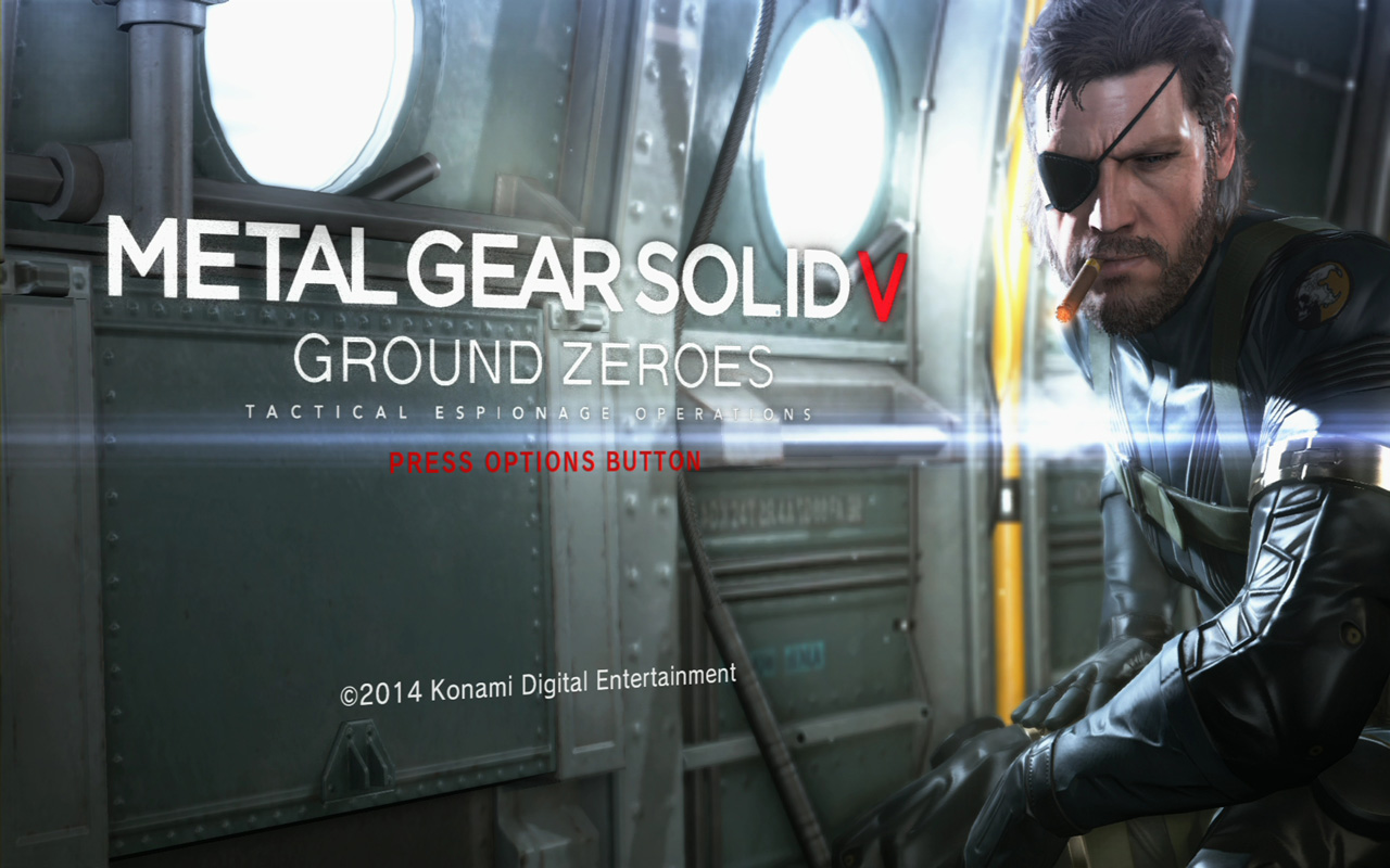 Free Metal Gear Solid: Ground Zeroes Wallpaper in 1280x800