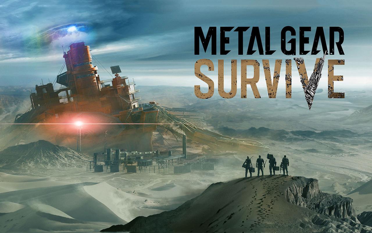 Free Metal Gear Survive Wallpaper in 1280x800